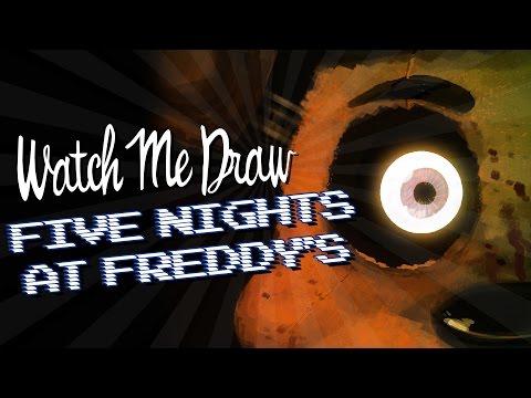 Watch Me Draw: Five Nights At Freddy's | StevRayBro