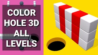 Color Hole 3D ALL LEVELS GAME