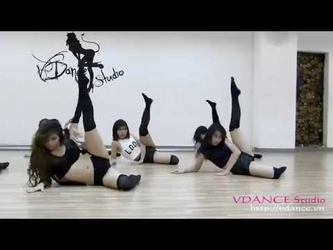 "VDANCE Studio ""Strip Dance"" PARTITION Beyonce by Fox Kieu Ngoc"