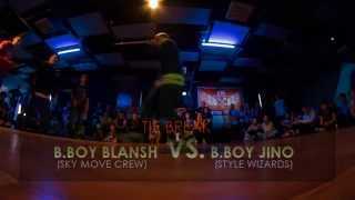 GOMEL SUMMER FLOOR _2015 __ B.BOY BLANSH (SKY MOVE CREW) VS. B.BOY JINO (STYLE WIZARDS)\TIE BREAK