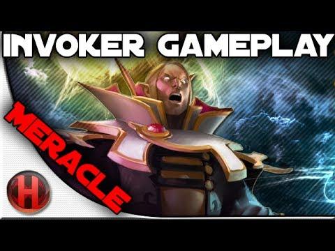Dota 2 - #TI4 - Pro Invoker Gameplay by SCYTHE.Meracle