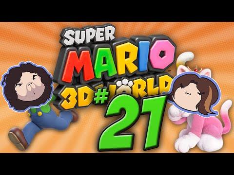 Super Mario 3D World: Cat Party Friends - PART 21 - Game Grumps
