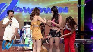 Wowowin: 'Sexy Hipon' Herlene, napunit ang shorts!