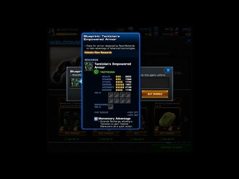 Marvel Avengers Alliance: Is the Tactician's Empowered Armor worth getting?