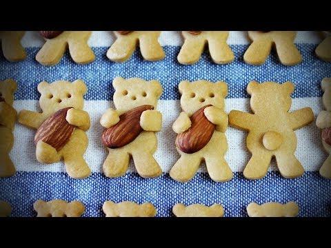 Печенье мишки в форме рецепт