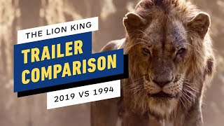 The Lion King Trailer Side-By-Side Comparison (2019 vs 1994)