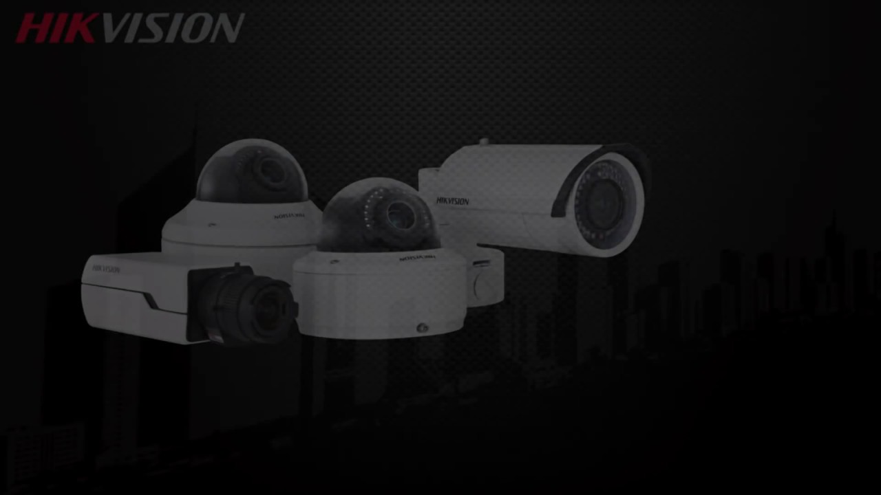 2013 Hikvision Smart Ip Cameras Youtube
