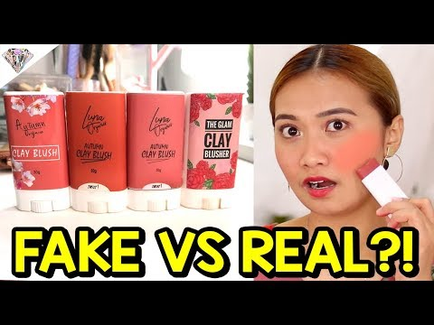 ORIGINAL LUNA CLAY BLUSHER REVIEW   THE BATTLE OF THE CLAY BLUSHERS   ANO BA ANG TOTOO?!