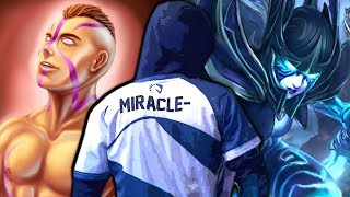MIRACLE is ready for TI9 - Unkillable Anti-Mage & Phantom Assassin Bad Start 7.22 Dota 2