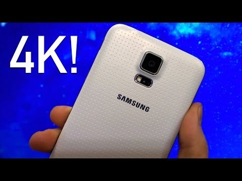 Samsung Galaxy S5 4K Video Test / Recording Sample