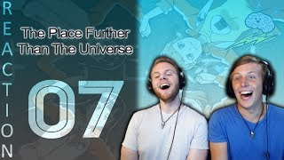 SOS Bros Reacts - A Place Further Than the Universe Episode 7 - Let's Go to Antarctica!!