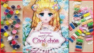 Đồ chơi dán hình thiết kế váy đầm công chúa, 52 bộ váy đầm đẹp - Sticker dolly dressing (Chim Xinh)