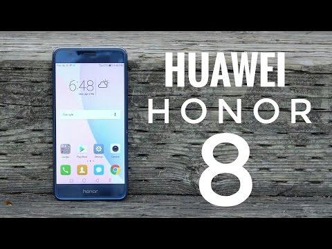 Huawei Honor 8 REVIEW - 4GB RAM, Dual Rear Cameras, Kirin 950 - 4K