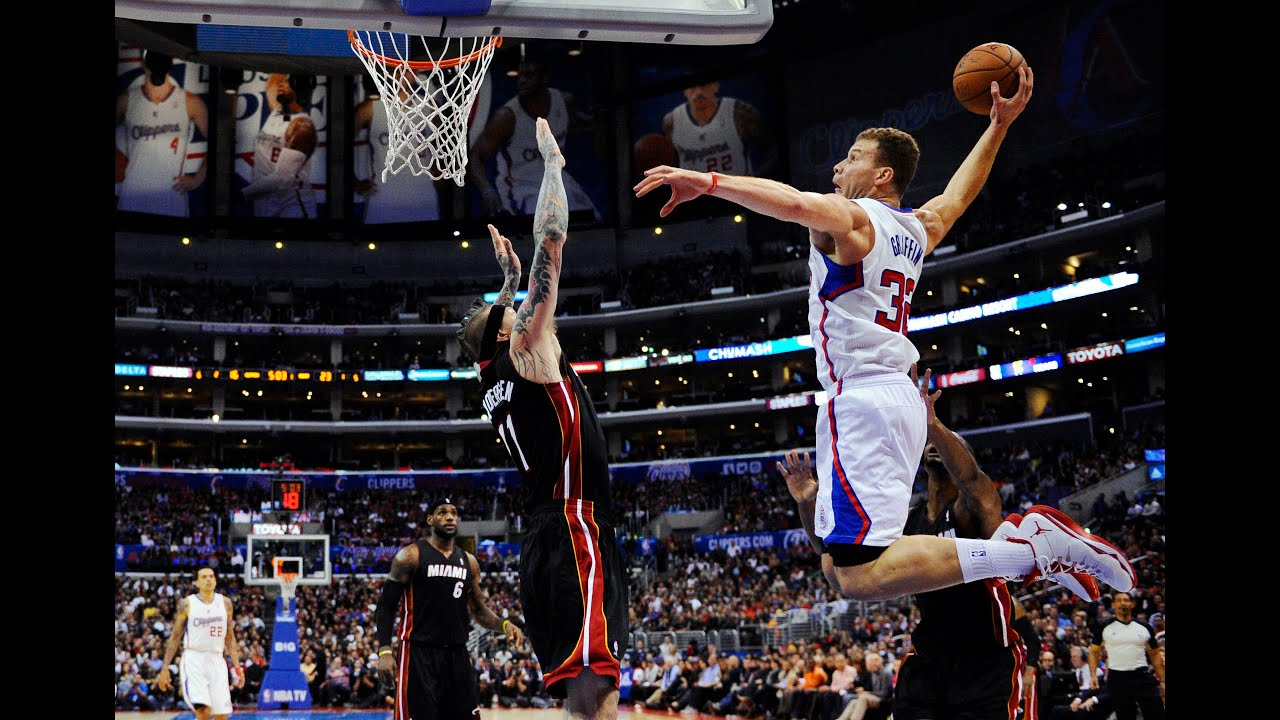 blake griffin mix 201314 top 100 dunks hd youtube