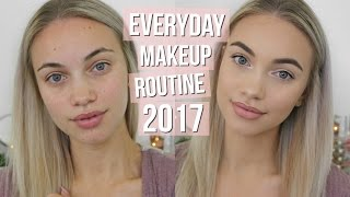 EVERYDAY MAKEUP ROUTINE // 2017