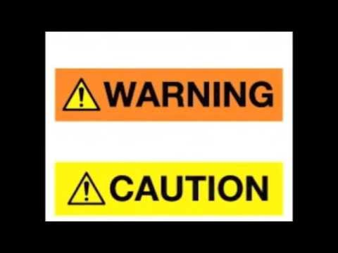 What Danger, Warning or Caution Signs Actually Mean (QUIZ)