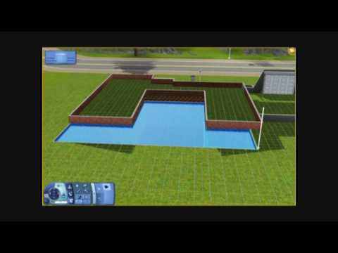 The Sims 3 - Building a House 12 - It's Black, It's White! - Part 1 - Architecture Video