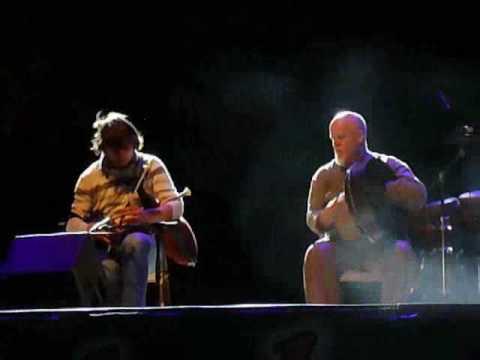 Yoann An Nedeleg e David Hopi Hopkins al Triskell 2009 - Trieste
