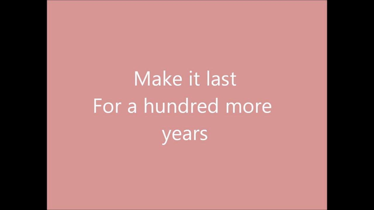 Five For Fighting - 100 Years Lyrics | MetroLyrics