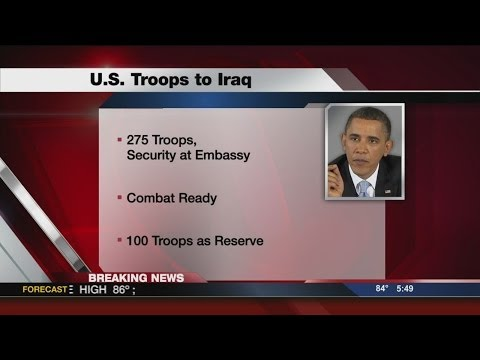 Obama: 275 US forces deploying to Iraq