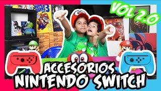 7 ACCESORIOS NINTENDO SWITCH 🎮 😎 - Especial Nintendo Switch (Analisis) Parte 2