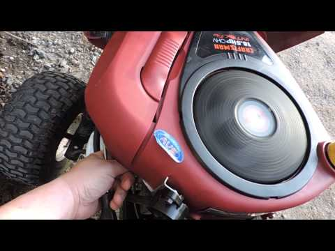 The Craftsman 18.5HP Briggs Intek engine is finally figured out!