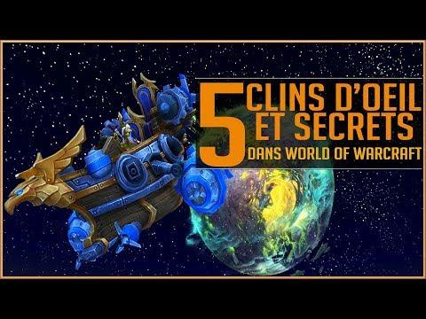 5 Clins D'œil et Secrets Dans World Of Warcraft ! #1