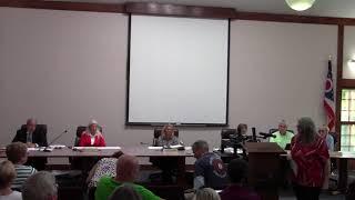 September 16 2019 Liberty Township Meeting