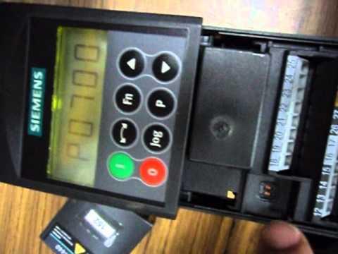 1. Variador de Velocidad  Micromaster 440.wmv