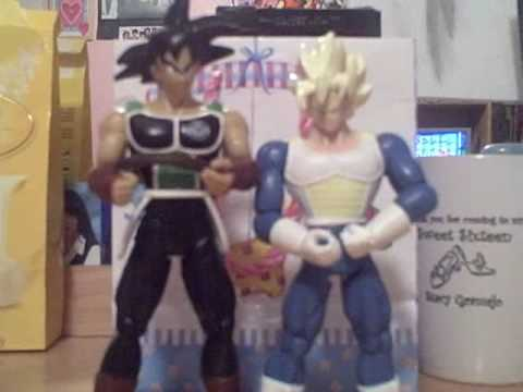 Dragonball Z Figure Review - Bardock & Ultimate Super Saiyan Goku with