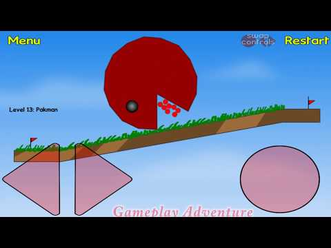 RED BALL 1 Complete GamePlay All Levels (1 -14) with Boss Fight