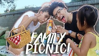 A DAY IN THE LIFE OF TEEN PARENTS | PICNIC VLOG!