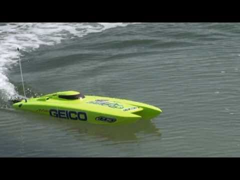 RC Electric Speed boat - Miss Geico from ProBoat