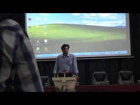 Javagal Srinath @ GIT Belgaum ( Video Part 1)