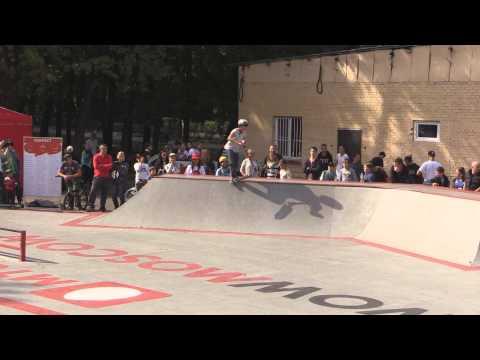 20150906 Даниил Стонин, kick scooter, МТС #WOWMOSCOW контест ВДНХ