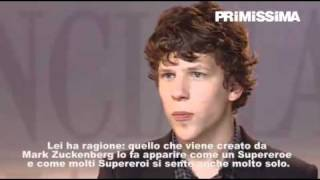 Intervista a Jesse Eisenberg protagonista del film The Social Network