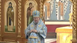 Проповедь 09 07 2020 в день памяти Тихвинской иконы Божией Матери.