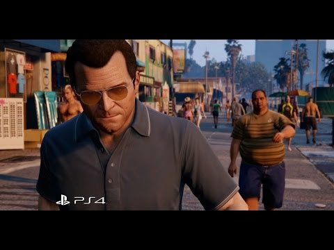 Grand Theft Auto V - PS3 to PS4 Comparison Trailer