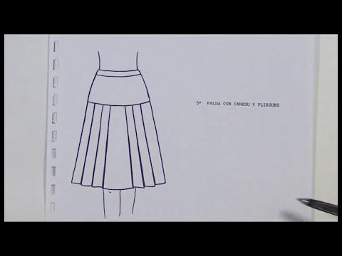 Proyecto Faldas: Falda Canesú Con Tablas PARTE 1/4