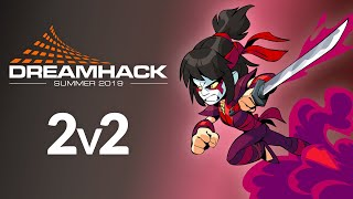 DreamHack Summer 2v2s - ft. Boomie, Sandstorm, Blew, Simple, VipR3, Aggz0 and more!