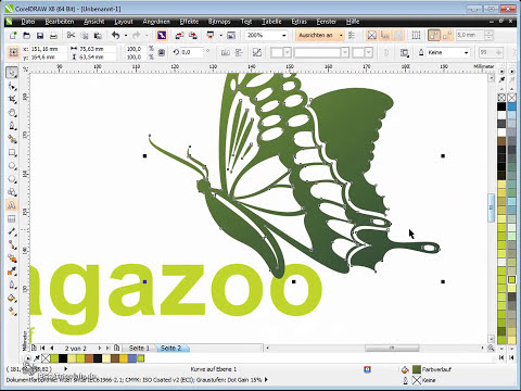 CorelDRAW X6 Tutorial - Corporate Design, Logoausgestaltung