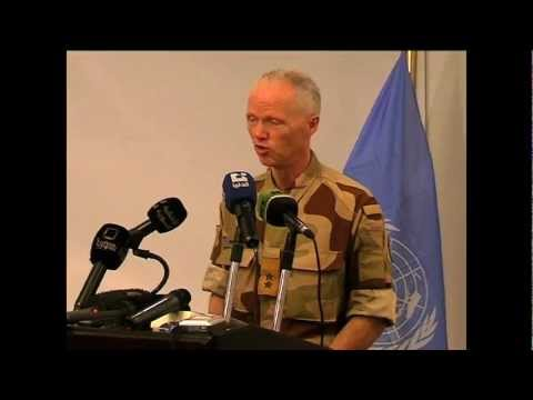 SYRIA: UN MILITARY OBSERVERS SUPPORT PEACE PLAN (UNSMIS)