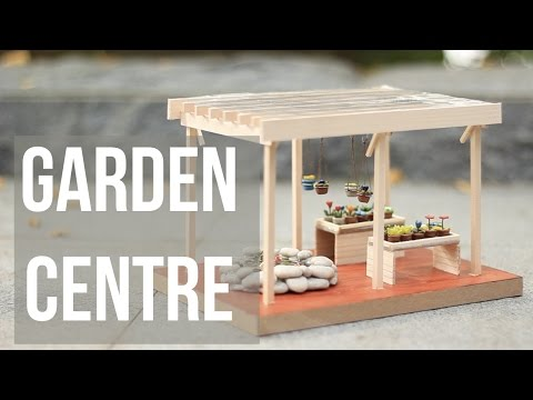 Miniature Garden Centre (Polymer Clay)