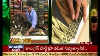 Snehitha - cotton designer sarees(TV5)