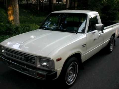 Toyota Diesel Truck >> 1982 TOYOTA 2.2L DIESEL FROM NEVADA - YouTube