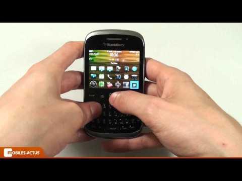 BlackBerry Curve 9320 - Test. démonstration. prise en main