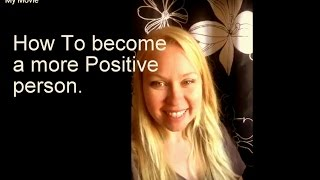 One easy trick to becoming more positive!