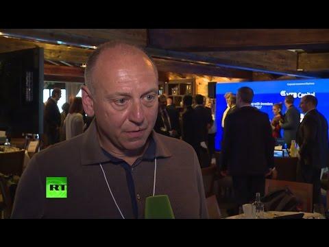 Курс на диалог: гости форума в Давосе поделились мнением об избрании Трампа
