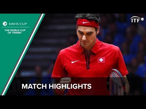 Highlights: Richard Gasquet (FRA) v Roger Federer (SUI)