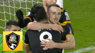 Diogo Jota fires Wolves in front v. Brighton | Premier League | NBC Sports